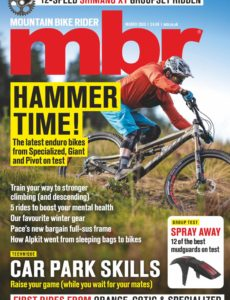 Mountain Bike Rider – March 2020
