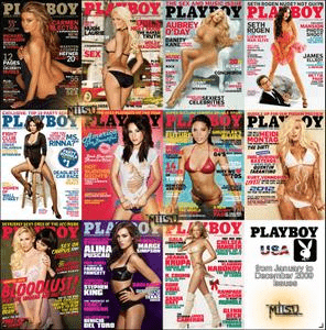Playboy USA – 2009 Full Year Issues Collection
