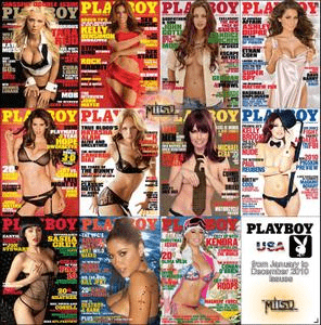 Playboy USA – 2010 Full Year Issues Collection
