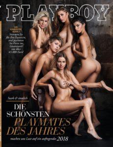 Playboy (Deutsche Ausgabe) Magazin Januar No 01 2018