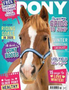 Pony Magazine – Issue 860 – February 2020