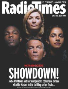 Radio Times – 29 February 2020