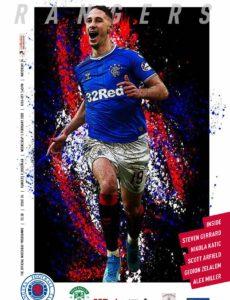 Rangers Football Club Matchday Programme – Rangers v Hibernian – 5 February 2020