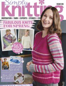 Simply Knitting – April 2020