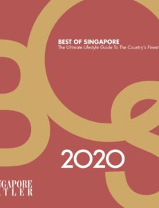 Singapore Tatler Best of Singapore – February 2020