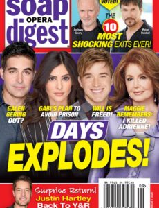 Soap Opera Digest – March 02, 2020
