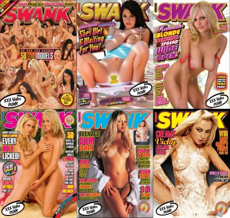 Swank Magazine – 2007 Full Year Issues Collection