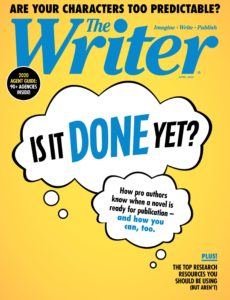 The Writer – April 2020