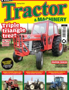 Tractor & Machinery – Spring 2020