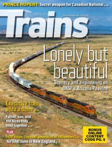 Trains – April 2020
