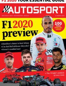 Autosport – 12 March 2020
