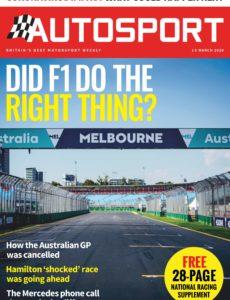 Autosport – 15 March 2020