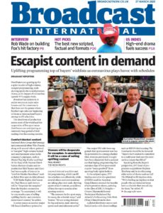 Broadcast Magazine – 25 March 2020
