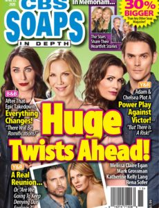 CBS Soaps In Depth – April 13, 2020