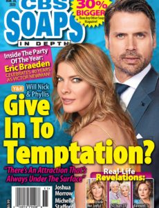 CBS Soaps In Depth – March 16, 2020