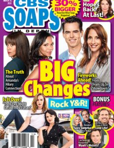 CBS Soaps In Depth – March 30, 2020