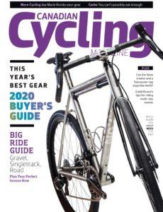 Canadian Cycling – April 2020