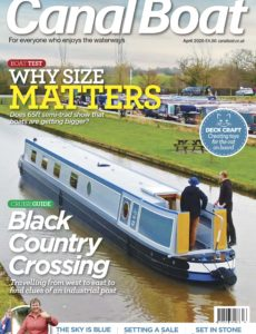 Canal Boat – April 2020