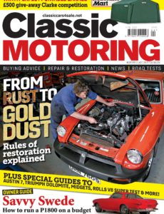 Classic Motoring – April 2020