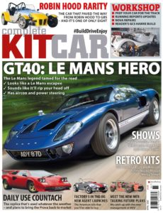 Complete Kit Car – April 2020