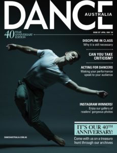 Dance Australia – April-May 2020