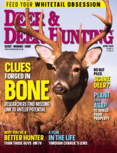 Deer & Deer Hunting – April 2020