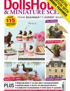 Dolls House & Miniature Scene – April 2020