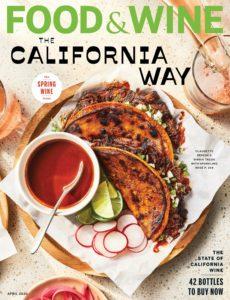 Food & Wine USA – April 2020