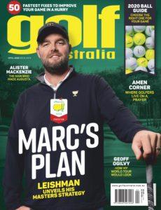 Golf Australia – April 2020