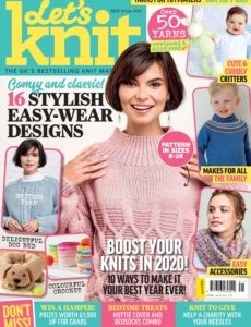 Let's Knit – Issue 153 – January 2020