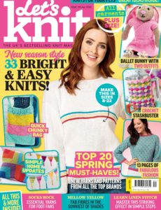 Let's Knit – Issue 156 – April 2020