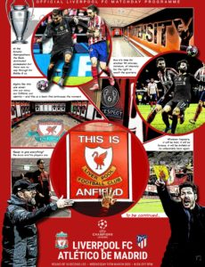 Liverpool FC Programmes – Liverpool FC v Atletico de Madrid – 11 March 2020
