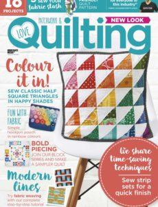 Love Patchwork & Quilting – April 2020