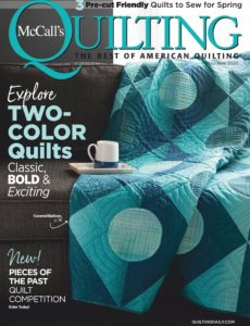 McCall's Quilting – May-June 2020