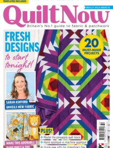 Quilt Now – Issue 72 – January 2020