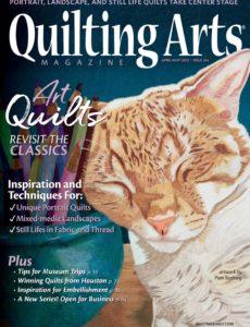 Quilting Arts – April-May 2020