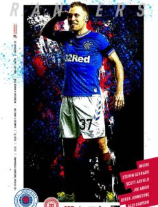 Rangers Football Club Matchday Programme – Rangers v Hamilton, 04 March 2020