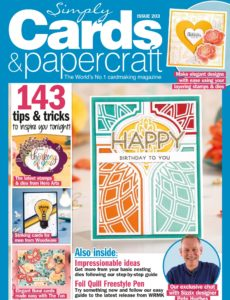 Simply Cards & Papercraft – Issue 203 – March 2020