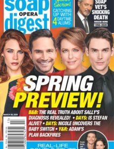 Soap Opera Digest – March 30, 2020