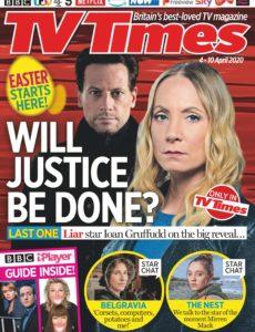 TV Times – 04 April 2020