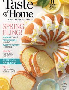 Taste of Home – April-May 2020