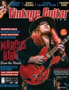 Vintage Guitar – Arpil 2020