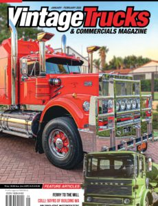 Vintage Trucks & Commercials – January-Febuary 2020