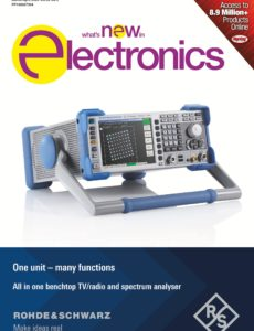 What's New in Electronics – March-April 2020