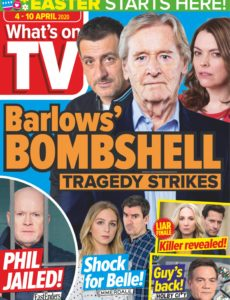 What's on TV – 04 April 2020