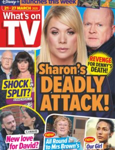 What's on TV – 21 March 2020