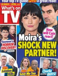 What's on TV – 28 March 2020