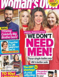 Woman's Own – 23 March 2020