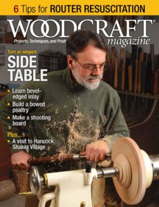 Woodcraft Magazine – April-May 2020
