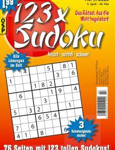 123 x Sudoku Nr 3 – 9 April 2020